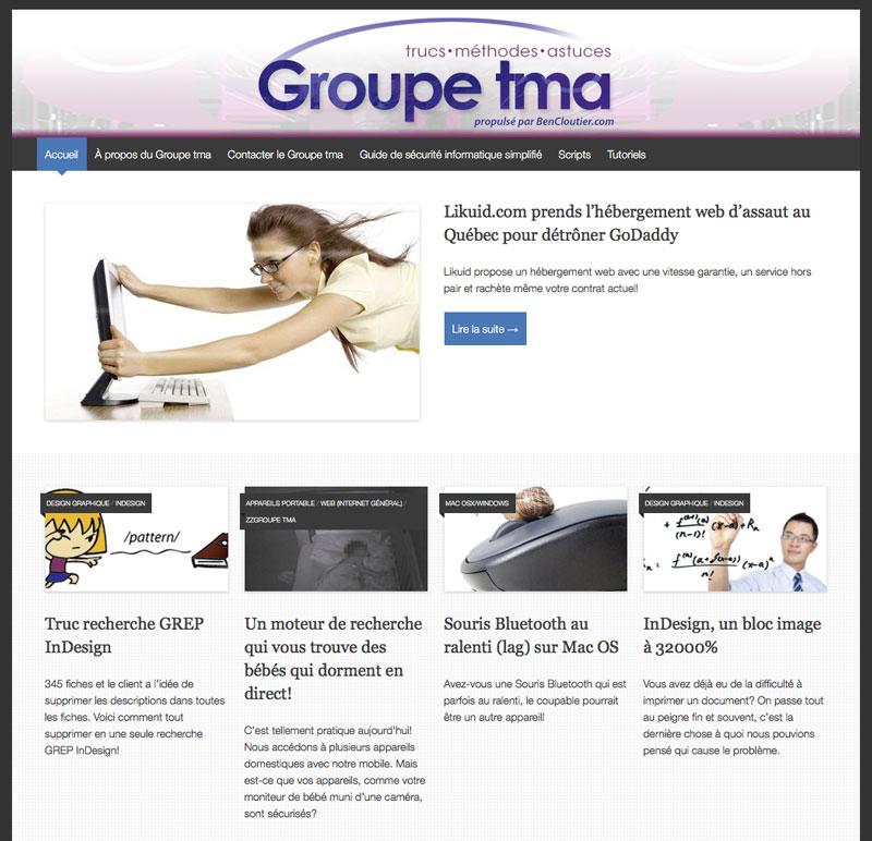 Groupe tma (trucs, méthodes et astuces)